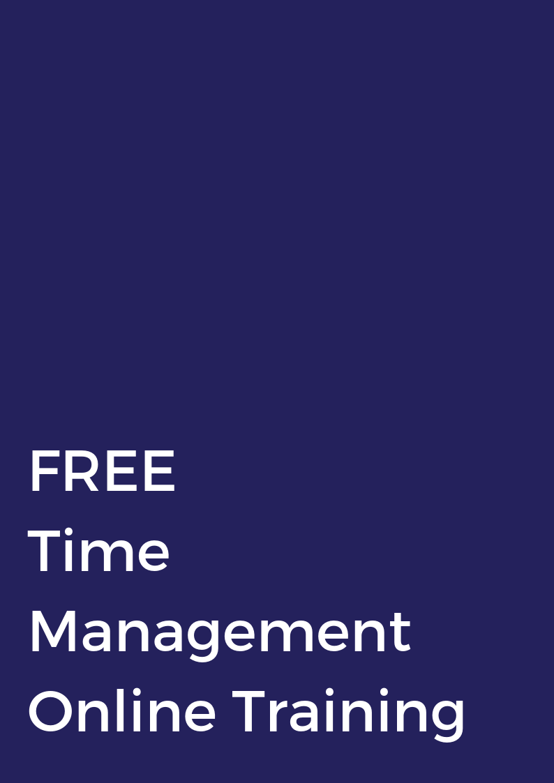 FREE TIME MANAGEMENT ONLINE TRAINING