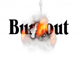overwhelm leads to burnout